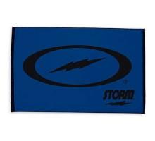 Storm Woven Towel Blue/Black