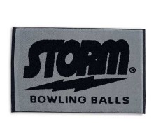 Storm Woven Towel Black/Grey