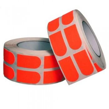 "Turbo Grip Strips 1"" Orange Tape Roll [500 Piece]"