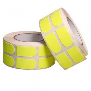 "Turbo Grip Strips 1"" Yellow Tape Roll [500 Piece]"