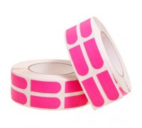 "Turbo Grip Strips 3/4"" Pink Tape Roll [500 Piece]"