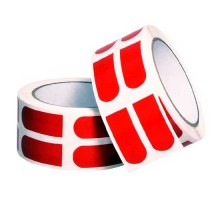 """Turbo Grip Strips 3/4"""" Red Tape Roll [500 Piece]"""