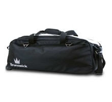 Brunswick 3 ball Combat Triple Tote Black