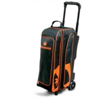 Brunswick 3 Ball Roller Blitz Black/Orange