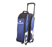 Brunswick 3 Ball Roller Blitz Blue