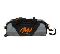 Motiv 3 ball Ballistix Tote Black Orange
