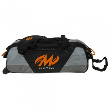 Motiv 3 ball Ballistix Tote Black Orange