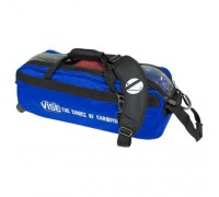 Vise 3 Ball Tote Roller Blue