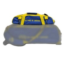 Vise Shoe Bag Add-On Blue Yellow For Vise 3 Ball Roller