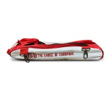 Vise Shoe Bag Add-On White Red For Vise 3 Ball Roller