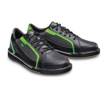 Brunswick Mens Punisher Black Neon Green Right Hand